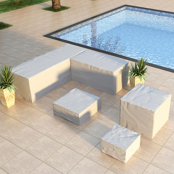 Genie 8 Piece Sectional Cover Set