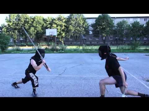 "summer longsword pieces HD: ""Altough things may seem different, in HEMA (Historical European Martial Arts) seeking bind was not the primary goal in an engagement. Why hit each other's blades when you can simply lure him/her into an elegant trap and hit your opponent's openings without blade contact? In this video we want to show you some excercises (no free fighting) how we practice such techniques (and some bonus activities). Enjoy!"""