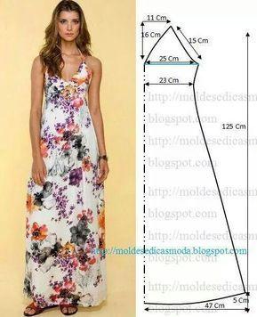 """Résultat de recherche d'images pour """"moldes de vestidos corte pañoleta para dama gratis"""""""