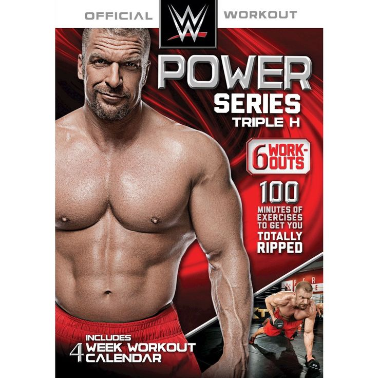 Wwe Power Series: Triple H - 6 Workouts