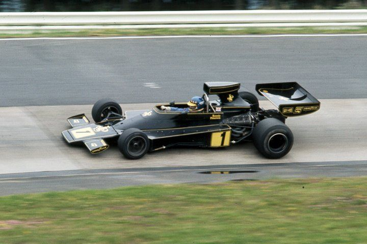 1974 Gp Niemiec Ronnie Peterson Lotus 76 Ford 1974