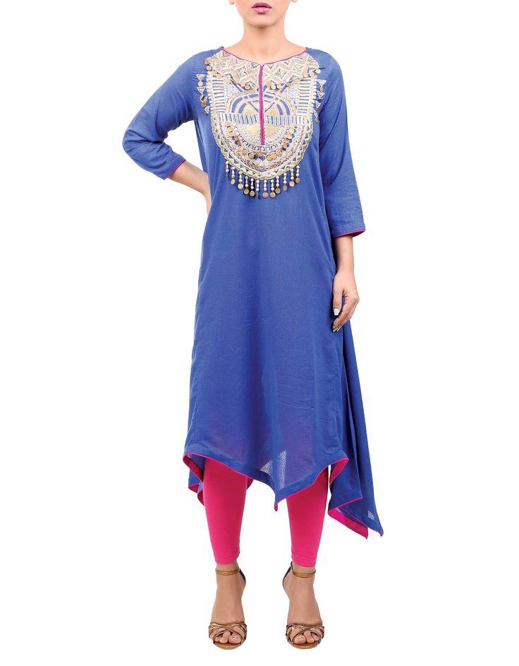 Blue Shirt #7RangsOfRangja #MyRangJa