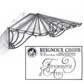 1000 images about art nouveau on pinterest ceiling lamps art nouveau interior and art deco tiles - Marquise en fer forge ...