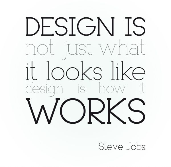 The difference between an artist and a designer is functionality. Where artists tend to focus on the abstract; designers merge concrete & abstract