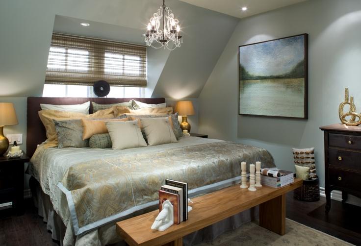 Candice Olson designed bedroom