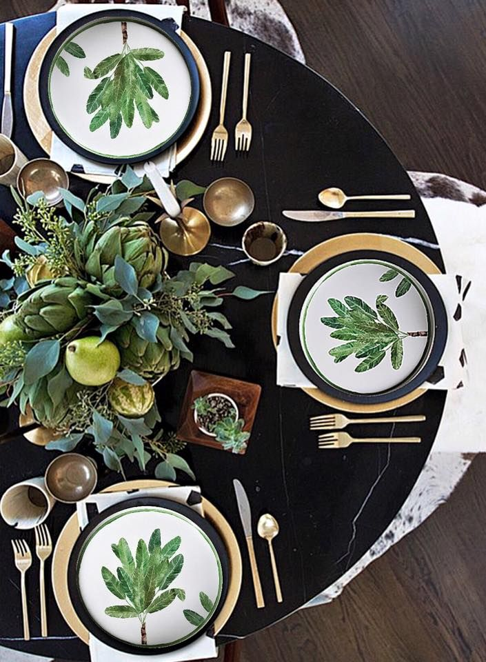 There\u0027s something relaxing yet elegant about this dinner place setting & 116 best Table Settings and Menus images on Pinterest | Dinner ...