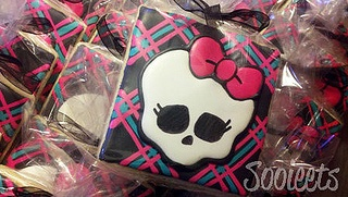Monster High Cookie Favors by Sooieets, via Flickr