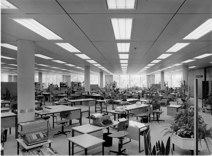 Osram Gmbh. Headquarters. Munich, DE. Walter Henn, 1963