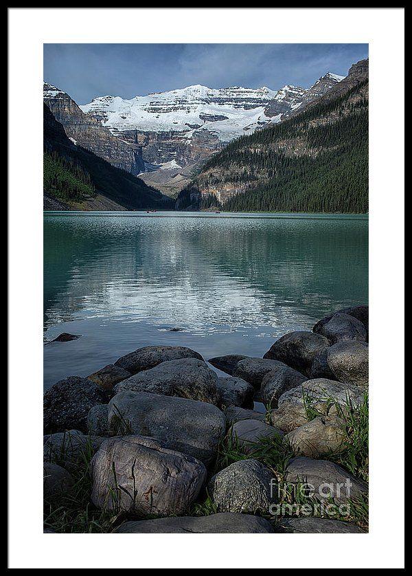 Lake Louise Framed Print By Patricia Hofmeester Framed Prints Landscape Affordable Art Prints