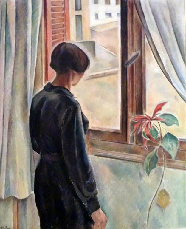 .;. Παπά Αγλαϊα – Aglaia Papa [1903-1984] Girl at the Window