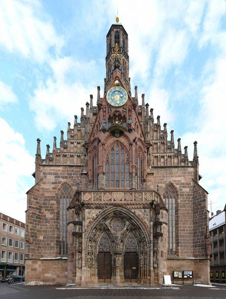 St. Sebaldus Church is a medieval church in Nuremberg, Germany. The  construction of
