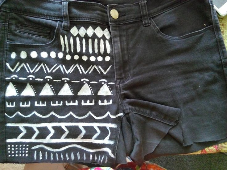 Tribal printed shorts