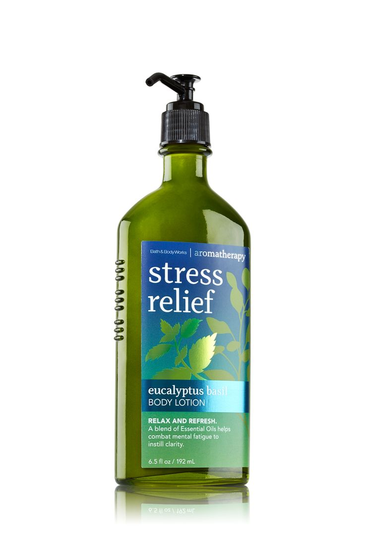 Eucalyptus basil body lotion aromatherapy bath body for Where are bath and body works products made