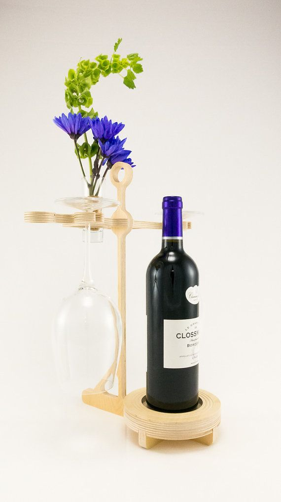 Style 46  Contemporary Wine Display Rack by KkornerInnovations, $26.00