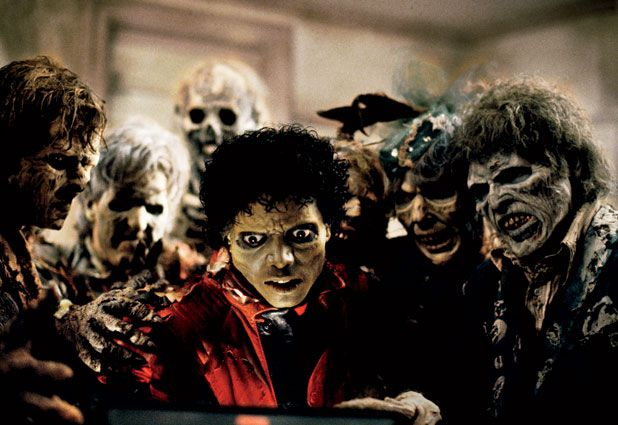 And though you fight to stay alive  Your body starts to shiver  For no mere mortal can resist  The evil of the thriller