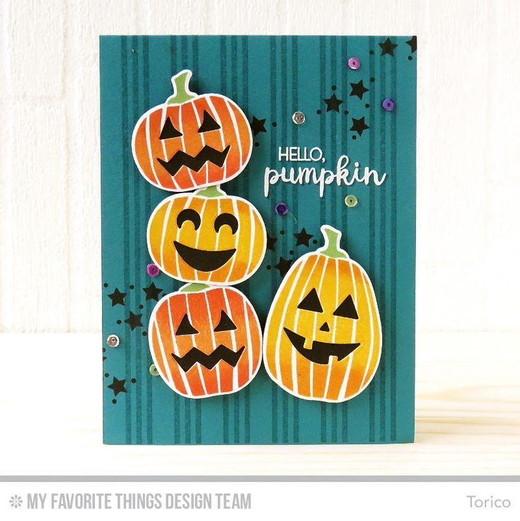 290 best CARDSHalloweenJack O Lantern images on Pinterest