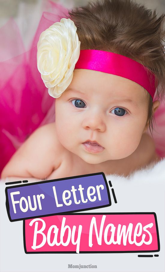 Most Beautiful 4-Letter #Baby #Names For #Boys And #Girls : Good things come in small packages, and same is the case with baby names. Four letter names have ...