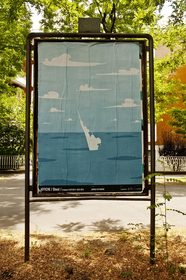 Affiche - No/where Now/here; Cremona by alessandro gottardo, via Behance