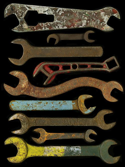 SUBMISSION: 9 Wrenches, from the series One for sorrow; Two for joy, by Johanna Inman via thingsorganizedneatly