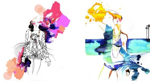 Amelie Hegardt Fashion Illustrations