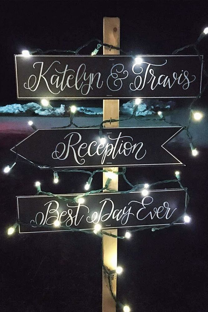 30 Most Popular Wedding Signs Ideas ❤ See more: http://www.weddingforward.com/popular-wedding-signs/ #wedding