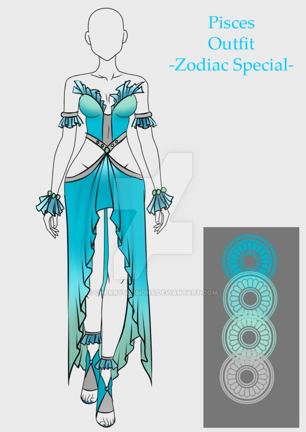 Outfit Adopt Pisces (closed) by CherrysDesigns on DeviantArt
