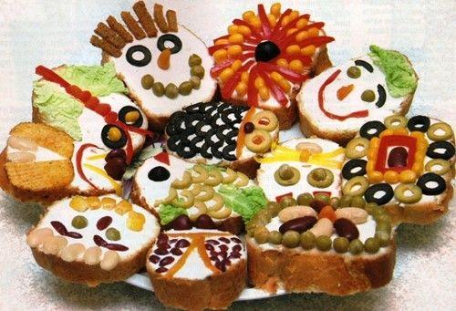 Бутерброды на праздничный стол. Праздничные бутерброды фото, оригинальные бутерброды фото идеи, красивые бутерброды - оформление бутербродов на праздничный стол.