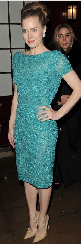 Amy Adams in Elie Saab Ready-to-Wear S/S 2013 at the post-BAFTA party, February 2013
