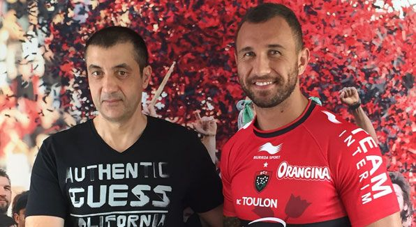 Quade Cooper a Tolone, è ufficiale: la firma è per due stagioni - On Rugby