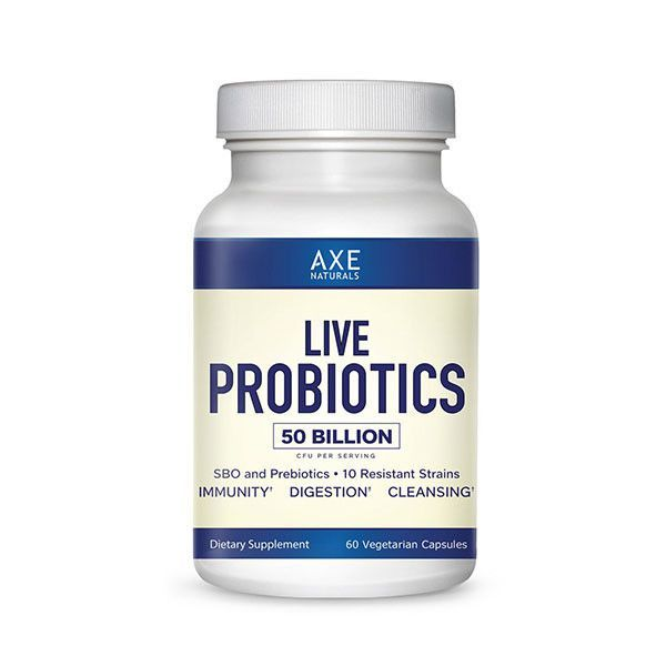 Get Free Shipping + $10 off when you order the 3-Pack of Live Probiotics. Axe…
