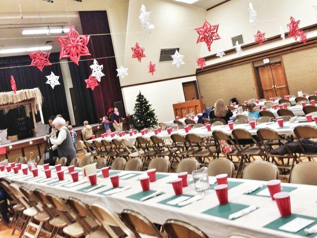 church christmas party ideas