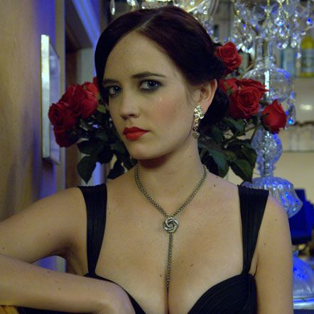 Sophie Harley's original Algerian Love Knot necklace took a starring role in James Bond movies Casino Royale and Quantum of Solace. This stunning piece was specially commissioned as a beautiful love-token for leading lady Eva Green to wear as the alluring Vesper Lynd in Casino Royale, with two beautiful pairs of earrings.  £2160.00