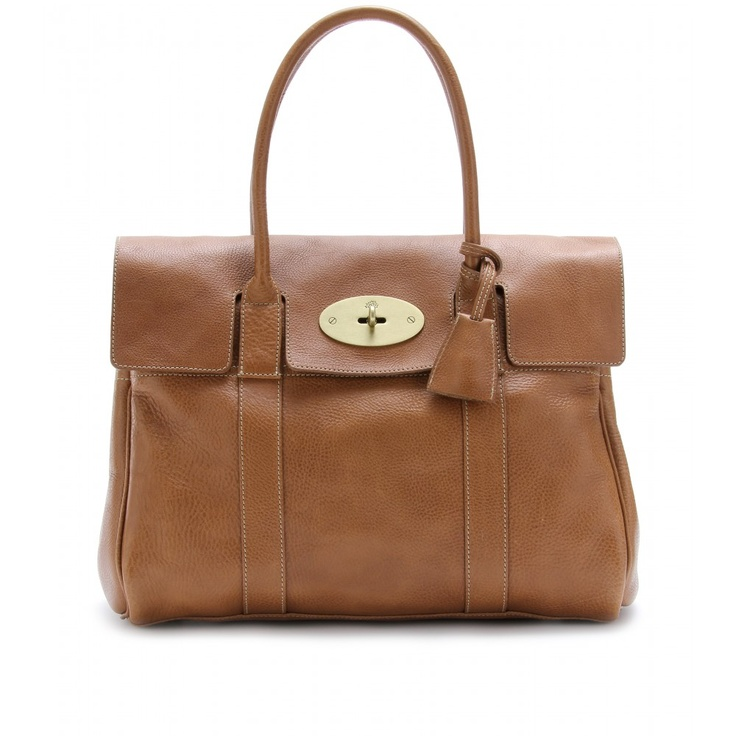 Mulberry BAYSWATER LEATHER BAG seen @ www.mytheresa.com