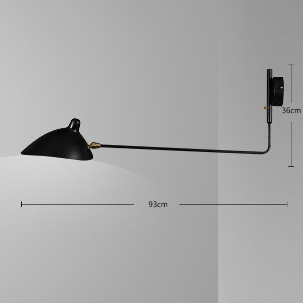 Products 8780 pinterest serge mouille designer wall lamp vintage wall black wall sconce retro loft industrial led vintage wall mozeypictures Image collections