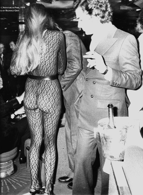 Jerry Hall  ~ 1974 Studio 54 also known for her long-term relationship with Mick Jagger. The couple have four children.