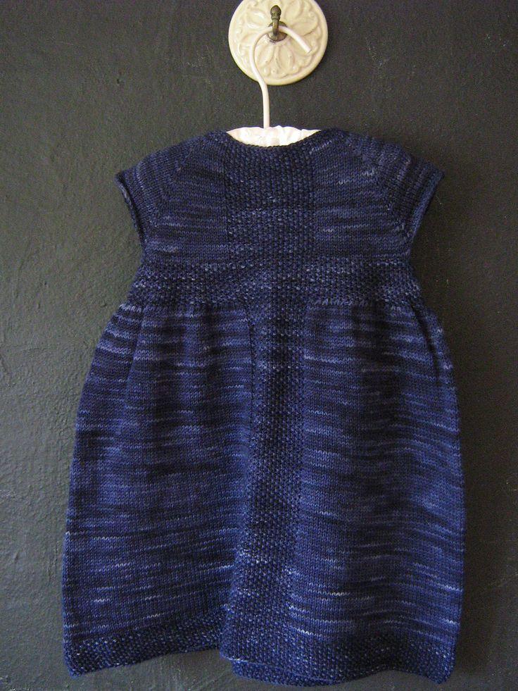 Rio Dress by Taiga Hilliard Designs. malabrigo Sock in Cote d'Azure