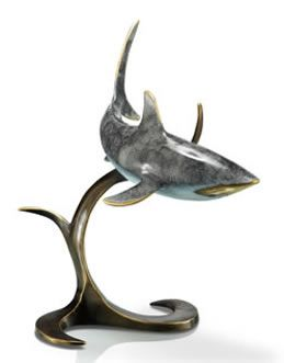 Shark Table Top Statue Made By San Pacific International/SPI. Available At  AllSculptures.