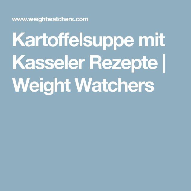 Kartoffelsuppe mit Kasseler Rezepte | Weight Watchers