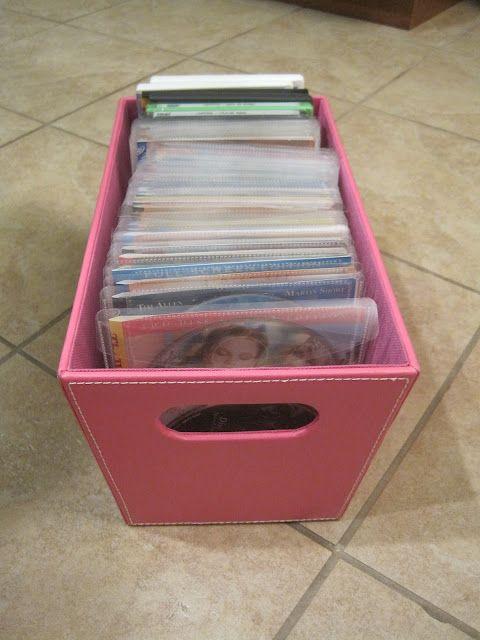 A Children's DVD Storage Solution!
