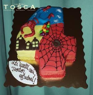 Tort tematic - Spiderman