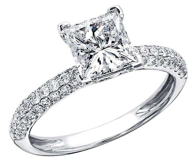 1000 images about engagement rings princess cut on