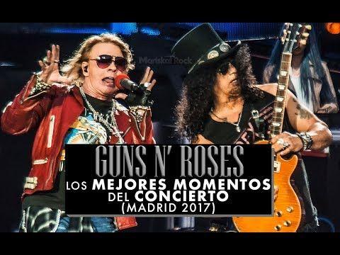 Guns N' Roses: los mejores momentos del concierto (Madrid 2017)