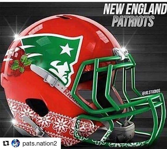 """Wow! Matches my """"ugly"""" blinking hat! #Patriots repost @pats.nation2"""