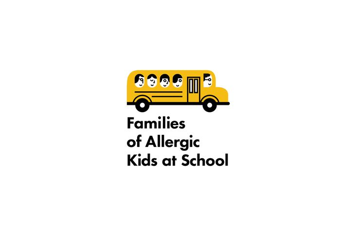 Logo for Families of Allergic Kids at School on Behance