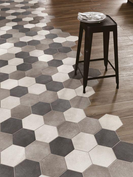 Floor tiles & wood