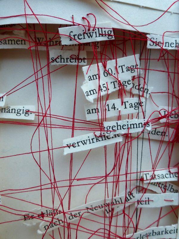 aus der Verfassung (Detail) - Ines Seidel