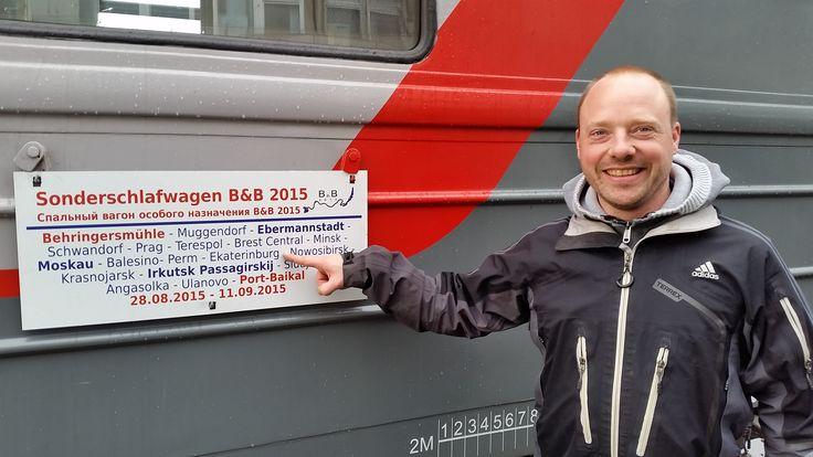 Im Laufe des Mittwochs (02. September) haben wir bereits den Bahnhof Ekaterienburg erreicht. Der Bahnhof liegt bereits hinter dem Ural-Gebirge, dass Europa und Asien verbindet. Bis vor wenigen Jahren gab es bis dort hin noch direkte Schlafwagenverbindungen von Berlin.