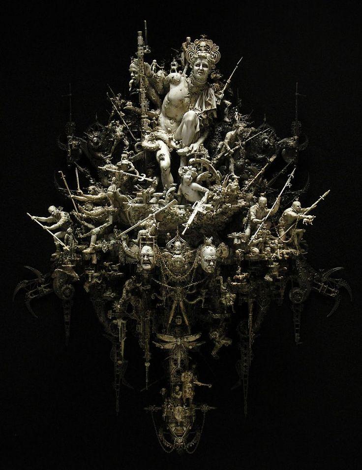 Сложнейшие скульптуры от Криса Кукси
