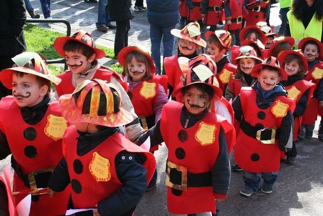 """Carnaval 2011 """" Els oficis"""" - Escola Llibertat - Bombers"""