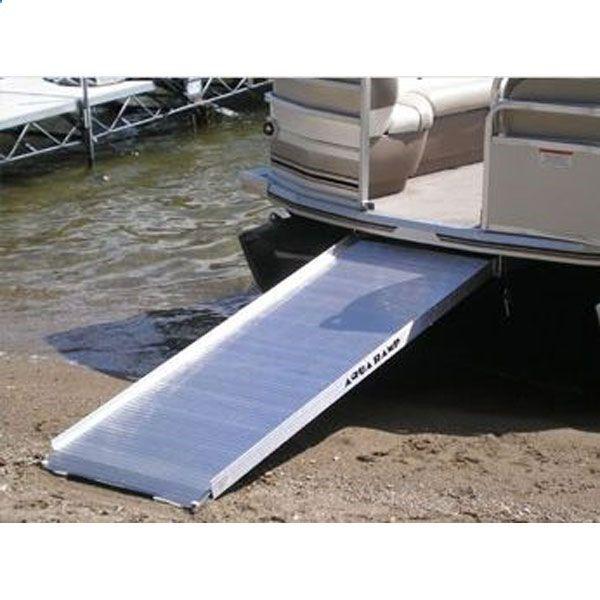 Pontoon Boat Boarding Ramp Aqua Ramp 1